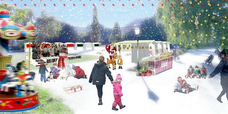 Kod Rudolfa - Advent za djecu na Strossmayerovom trgu; © TZ Zagreb