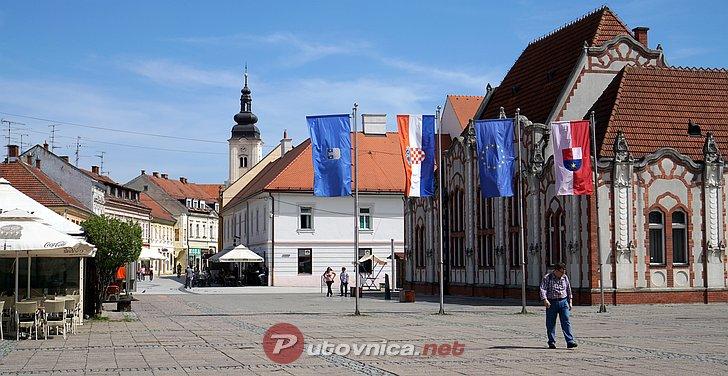 Doček nove godine na Trgu Republike u Čakovcu