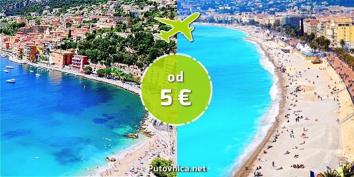 Letovi Iz Hrvatske Za Nicu I Druge Francuske Gradove Vec Od 5 00 Eura Akcije Na Putovnica Net