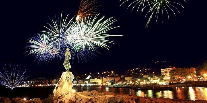Doček nove godine na otvorenom u Opatiji; © TZ Opatija