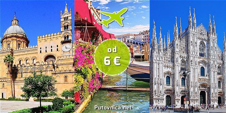 Voloteina akcija: letovi Split - Italija već od 6,00 eura