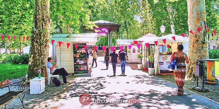 Festival slastica Slatki gušti u parku Zrinjevac