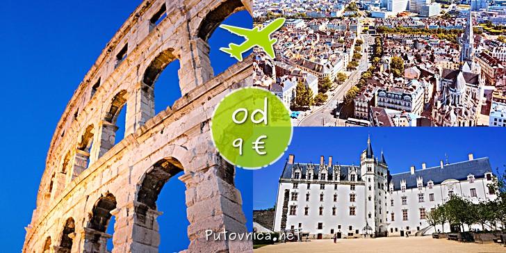 Letovi Pula - Nantes