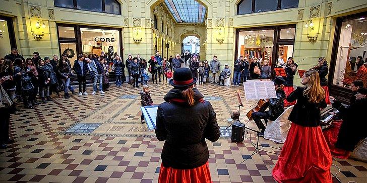 Advent u Oktogonu; © TZ Zagreb