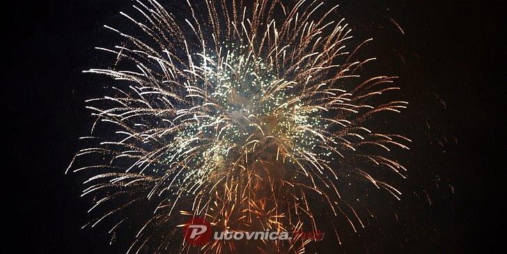 Doček nove godine na Trgu Petra Zrinskog u Vrbovcu