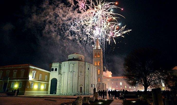 Doček nove godine u Zadru; © Grad Zadar