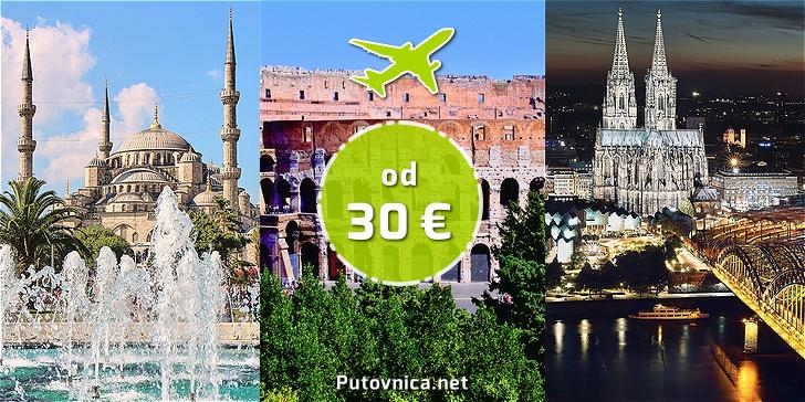 Kamo povoljno letjeti tijekom zime iz Splita i Dubrovnika?
