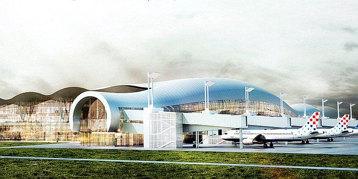 Foto Zracna Luka Zagreb Sve Blize Dobivanju Novog Putnickog Terminala Plus Na Putovnica Net