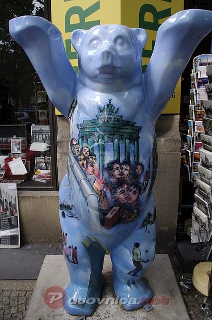 Berlin Figura Medvjeda Galerije Slika Na