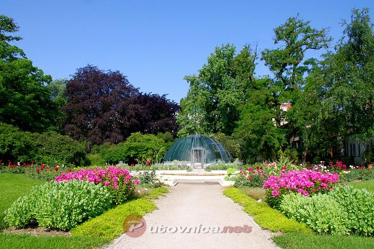 Botanički vrt u Zagrebu - Fontana (1)  Galerije slika na Putovnica.net