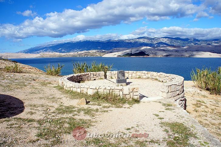 Otok Pag - Vidikovac na 15. meridijanu (1)  Galerije slika na Putovnica.net