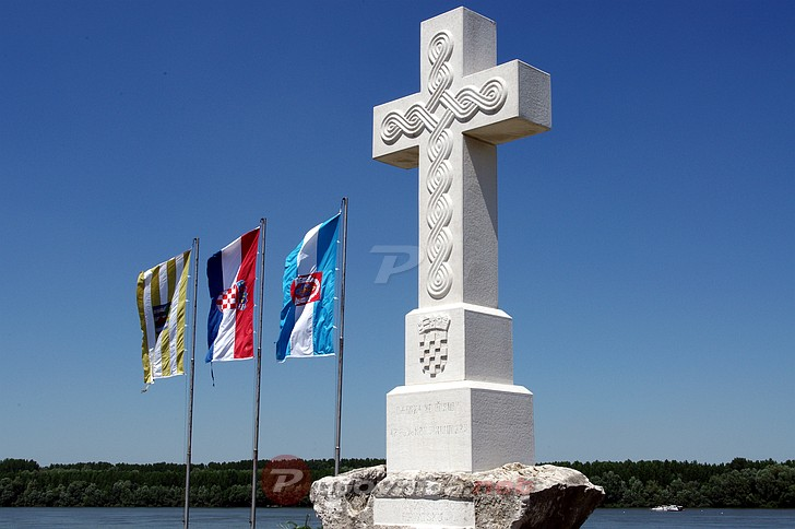 Vukovar White Cross Dedicated To All Those Who Fell For