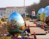 Izložba velikih uskrsnih 'Pisanica od srca' u Koprivnici