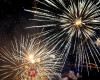 Doček nove godine na Trgu slobode u Poreču