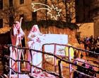 Žive jaslice na Kaptolu, ispred Zagrebačke katedrale