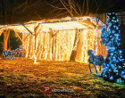 Božićni park skulptura obitelji Pavletić u Zagrebu