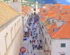 Doček nove godine na Stradunu u Dubrovniku