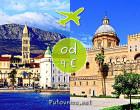 Letovi Split - Palermo