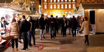 Doček nove godine na Europskom trgu u Zagrebu