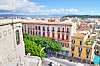 View of Cagliari from Saint Remy Rampart