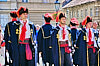 Changing the guard in Zagreb