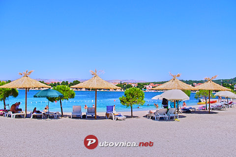 Krapanj (Krapanj): beaches and coves