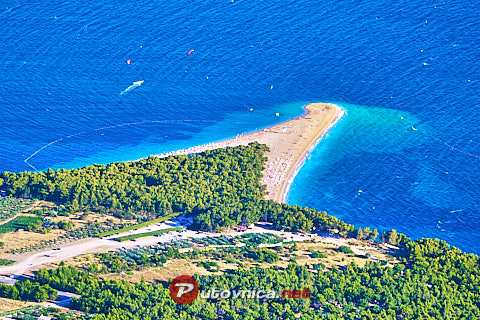 Bol (Brač): beaches and coves