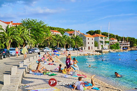 Sumartin (Brač): beaches and coves