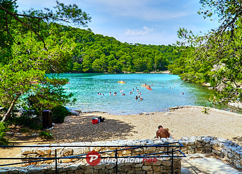 Goveđari (Mljet): beaches and coves