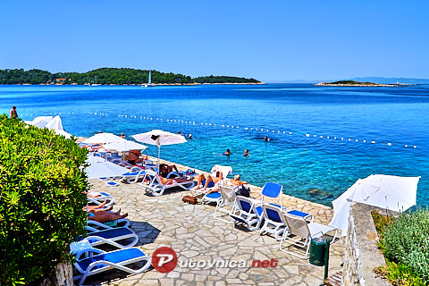 Pomena (Mljet): beaches and coves