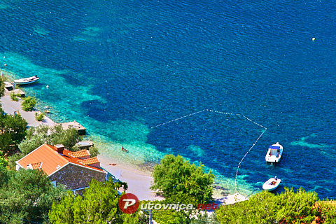 Prožurska Luka (Mljet): beaches and coves