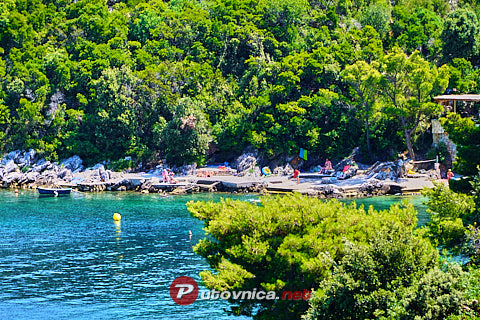 Sobra (Mljet): beaches and coves