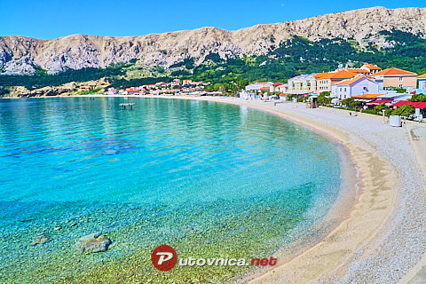 Baška (Krk): beaches and coves