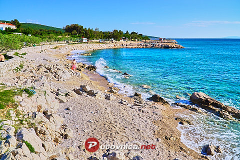 Punat (Krk): beaches and coves