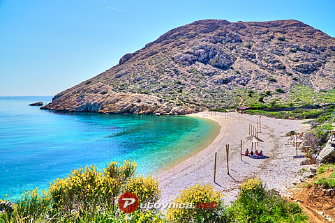 Stara Baška (Krk): beaches and coves