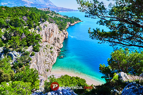 Makarska: beaches and coves