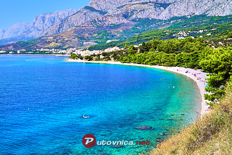 Podgora: beaches and coves