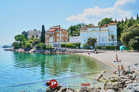 Opatija: beaches and coves
