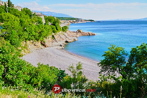 Prva draga Beach, Senj