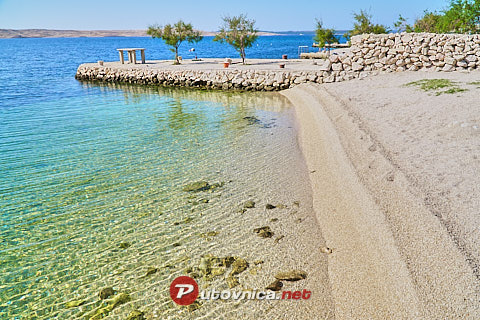 Kustići (Pag): beaches and coves