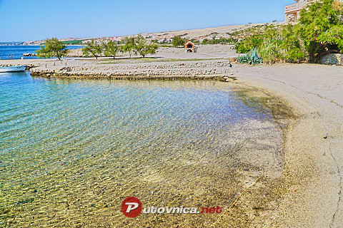 Portić South Beach, Kustići (Pag)