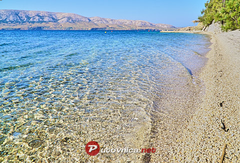Riva Beach, Metajna (Pag)