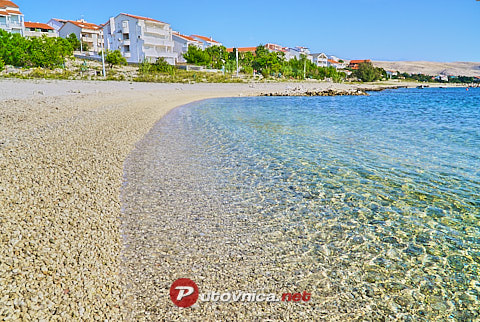 Vidalići (Pag): beaches and coves