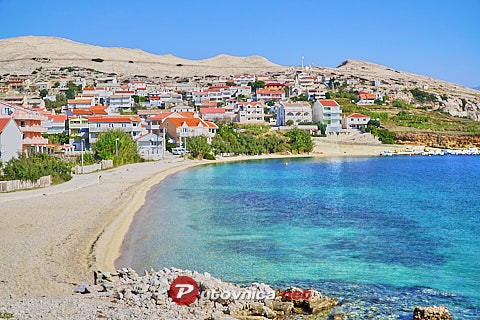Zubovići (Pag): beaches and coves