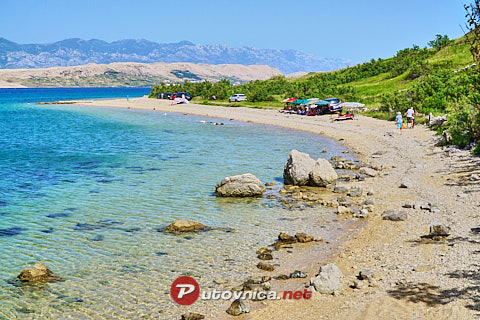 Bok East Beach, Kolan (Pag)