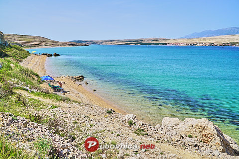 Island of Pag: beaches and coves