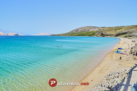 Kolan (Pag): beaches and coves
