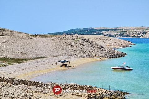 Škarić North Beach, Kolan (Pag)