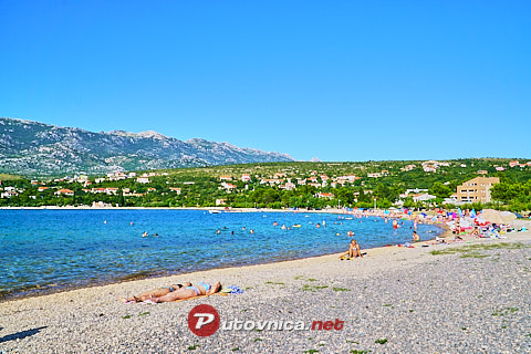 Rovanjska: beaches and coves