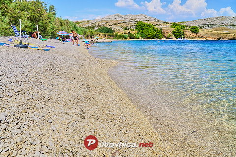 Smokvica (Pag): beaches and coves